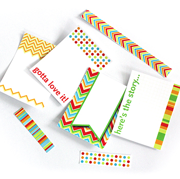 Journaling cards great for project life or scrapbooking.