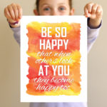 "We all need to ""Be So Happy"""