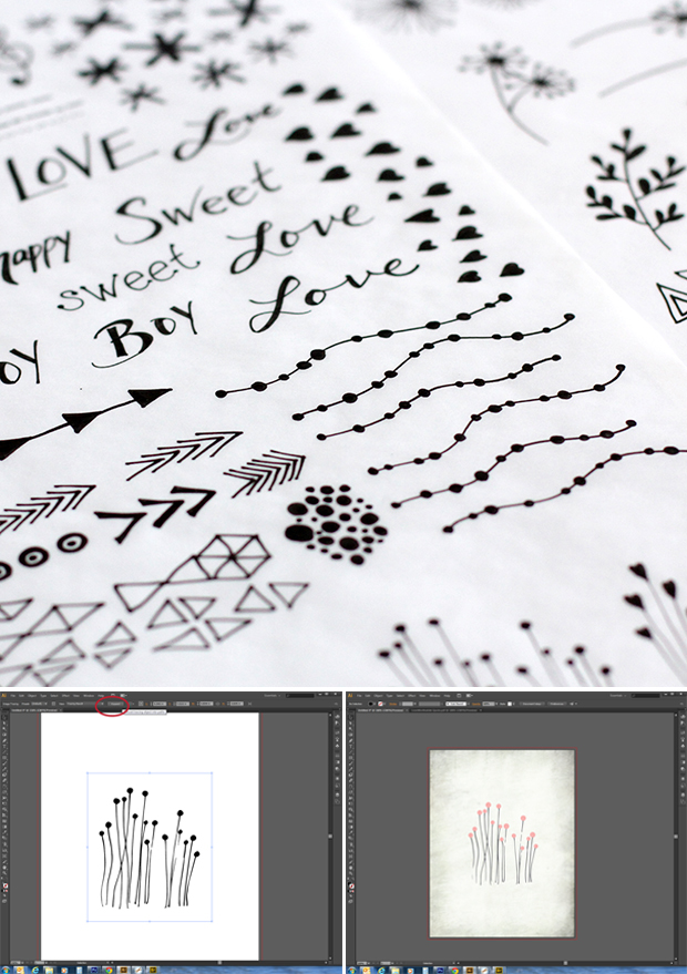 Turn your sketches into digital vector images.