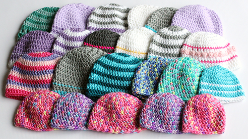 Crochet Caps For A Cause Pattern Dabbles Amp Babbles