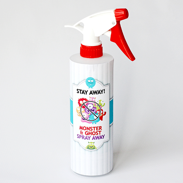Stay away monster and ghost spray