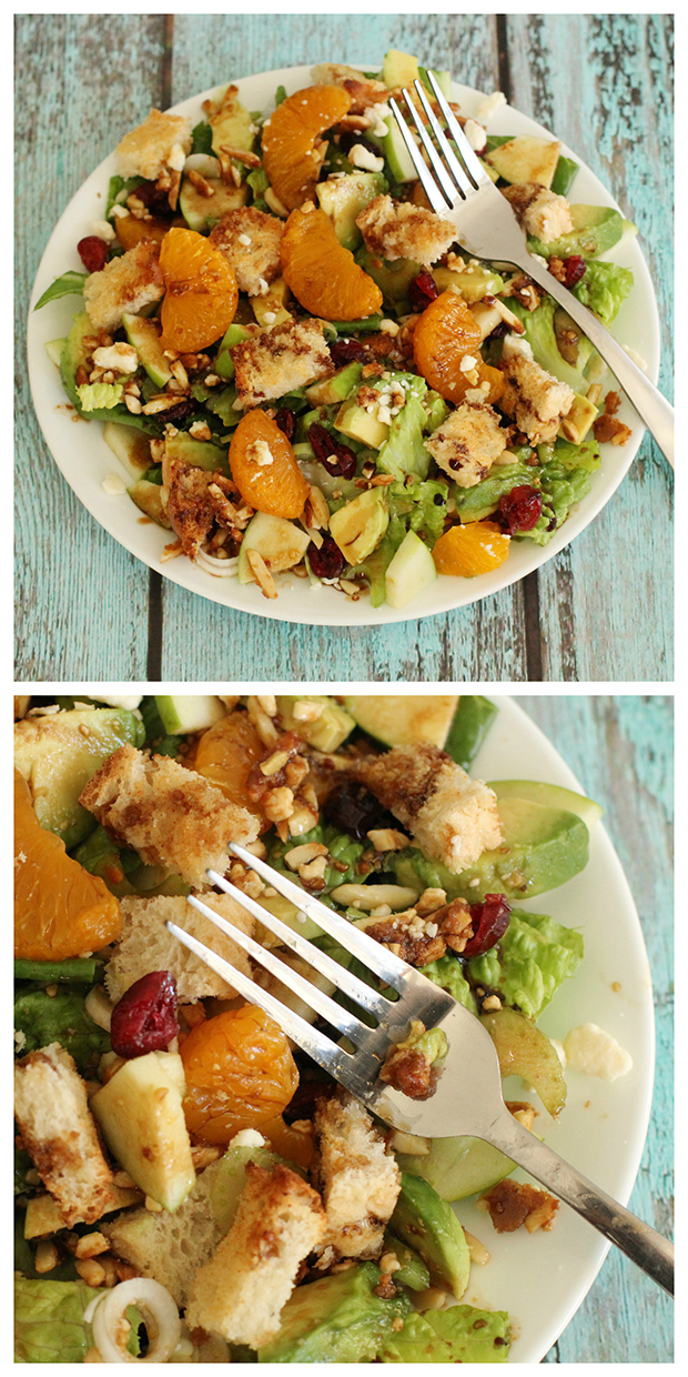 Recipe for the Best Salad Ever.