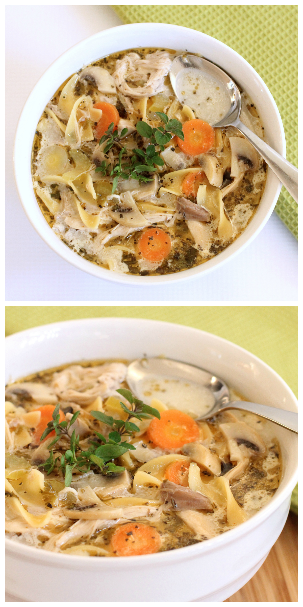 The Best Chicken Noodle Soup You'll Ever Eat! - Dabbles & Babbles