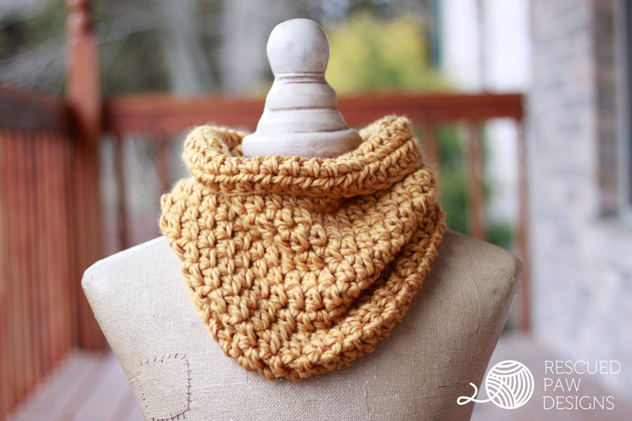 15 Easy Chunky Crochet Cowls To Keep You Cozy And Warm Dabbles