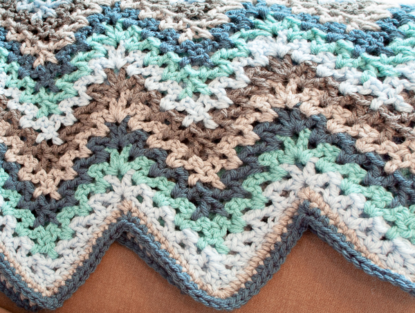 40 Easy Crochet Afghans Perfect For Beginners Dabbles Babbles Beauteous Afghan Patterns