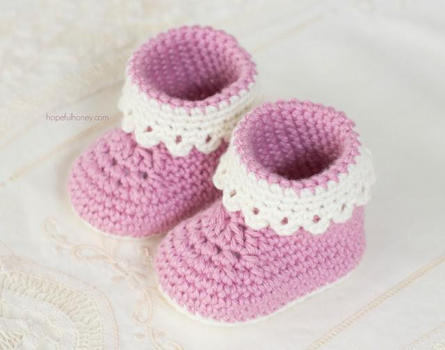 Cutest Crochet Baby Bootie Patterns