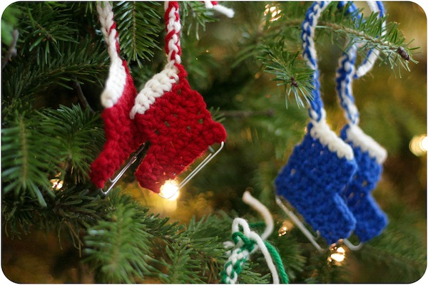 ice skate ornament crochet pattern