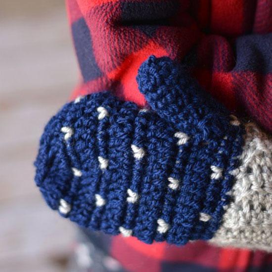 15 Easy Crochet Mitten Patterns Even Beginners Can Make Dabbles