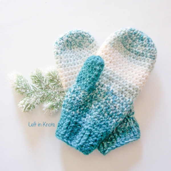how to make fox fur mittens