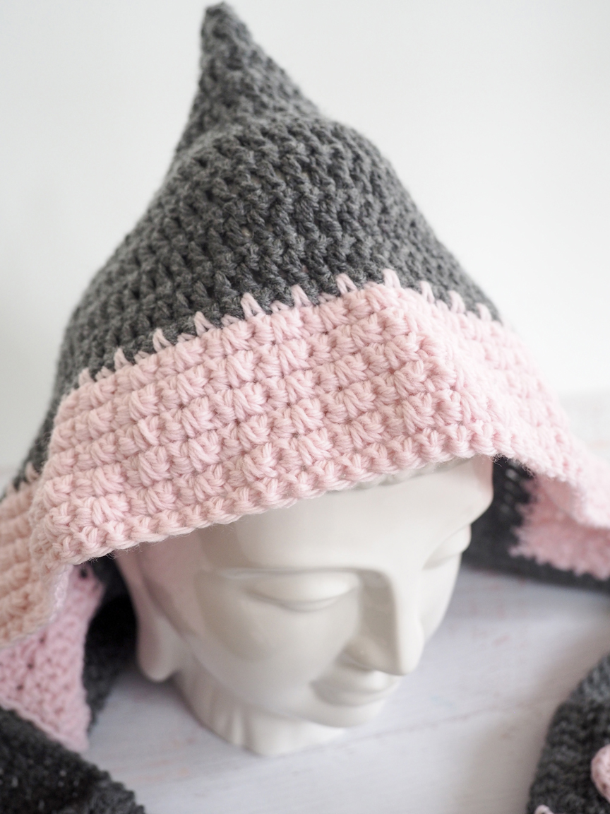 Hooded Scarf Crochet Pattern - Dabbles & Babbles