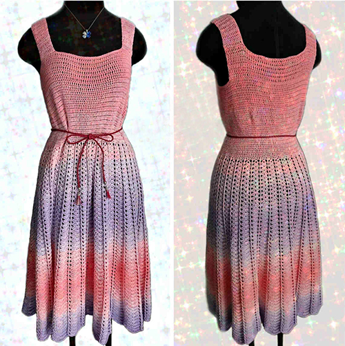 Enchanted Sun Dress Crochet Pattern