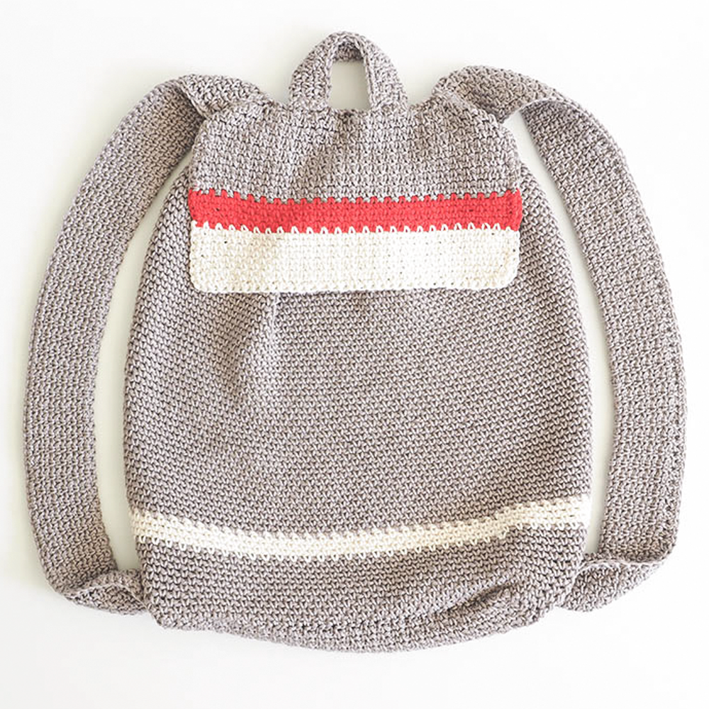 Color Block Backpack Crochet Pattern