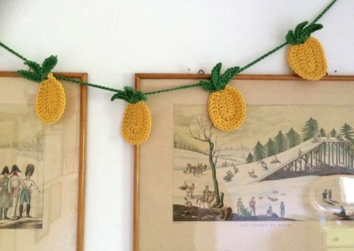 Tropical Pineapple Bunting