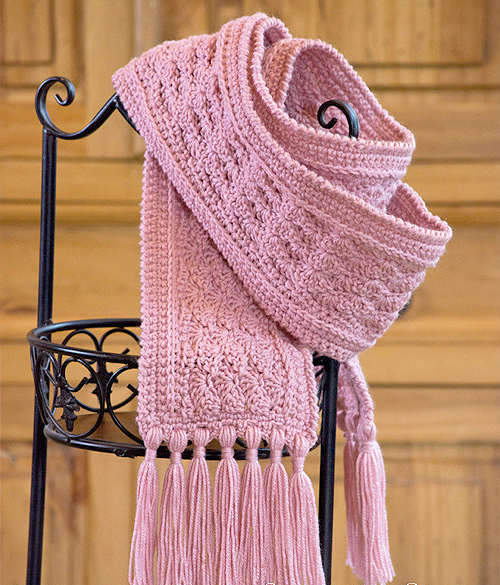 La Vie en Rose Ladies Scarf