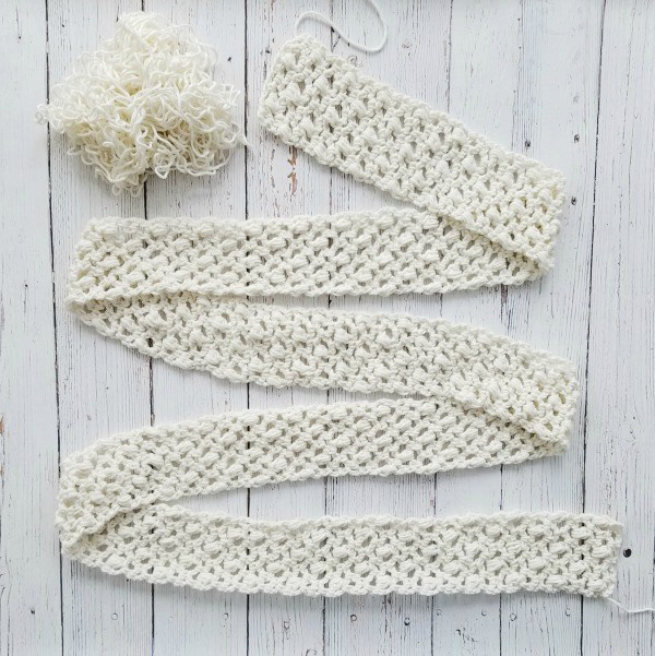 Easy Lace Scarf