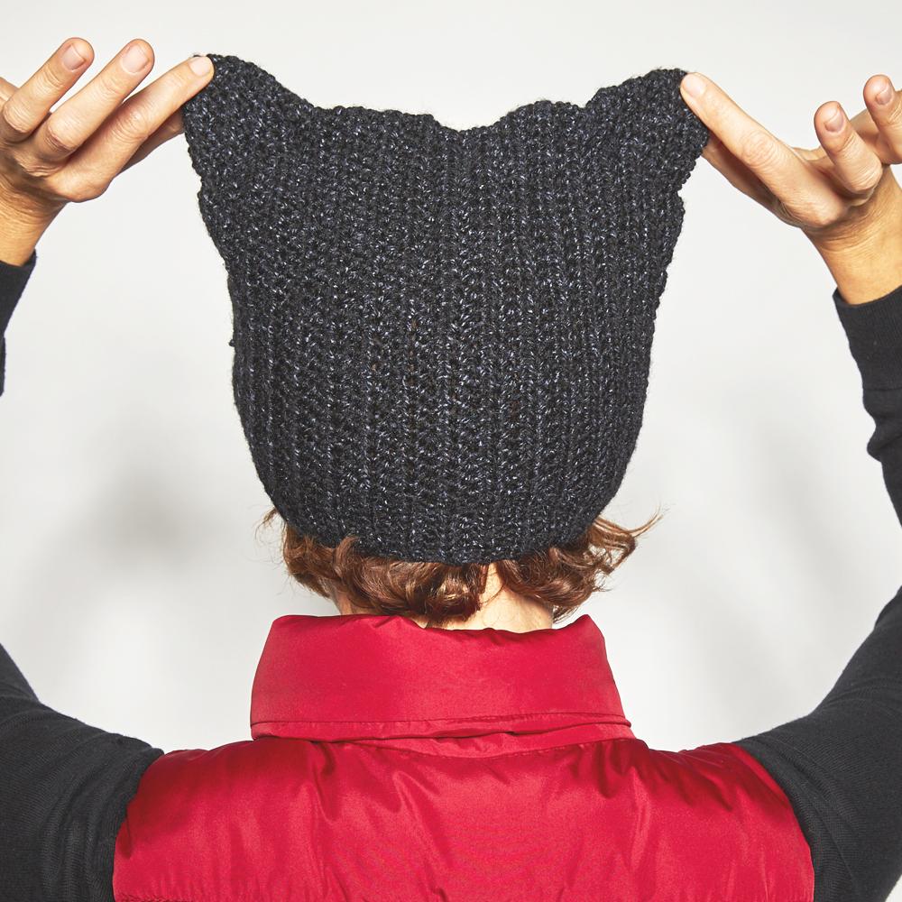 Halloween Cat Beanie Crochet Pattern
