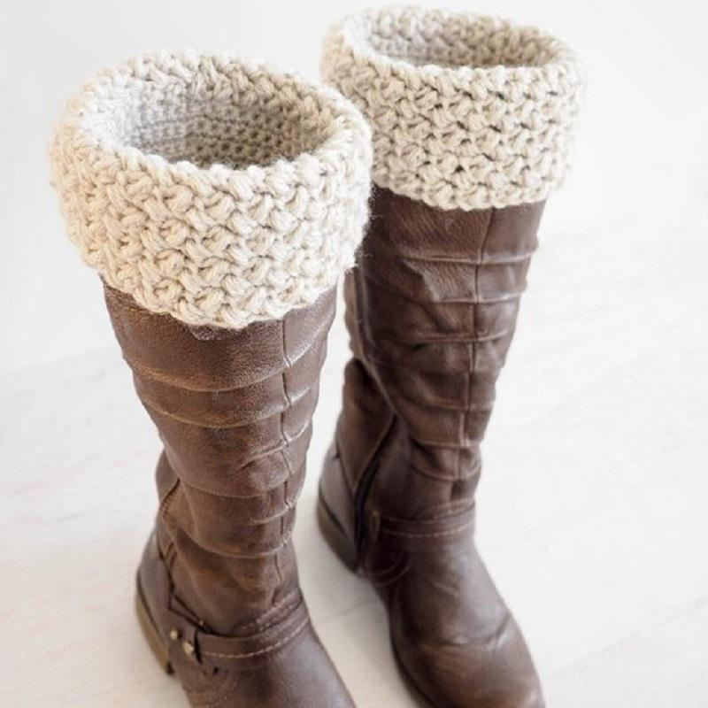 Elizabeth Stitch Boot Cuffs