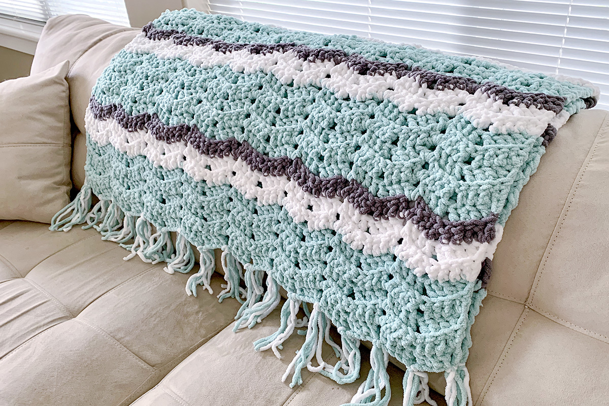 20 Easy Crochet Afghans Perfect For Beginners Dabbles