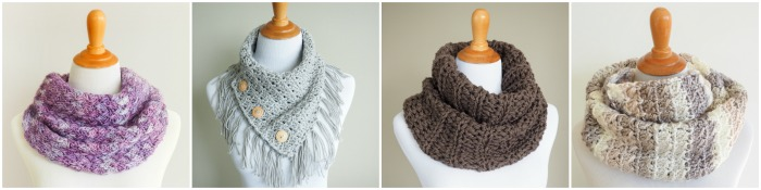 19 Easy Winter Crochet Cowls to Keep You Warm - here's a list of the coziest, stylish crochet cowls and infinity scarf crochet patterns to wear this season. #crochetcowl #crochetpattern #crochetinfinityscarf #cozycrochet