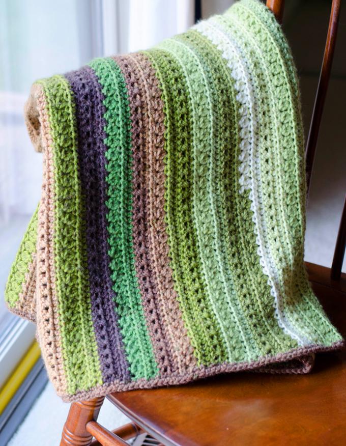 Fields and Furlow Crochet Blanket Pattern