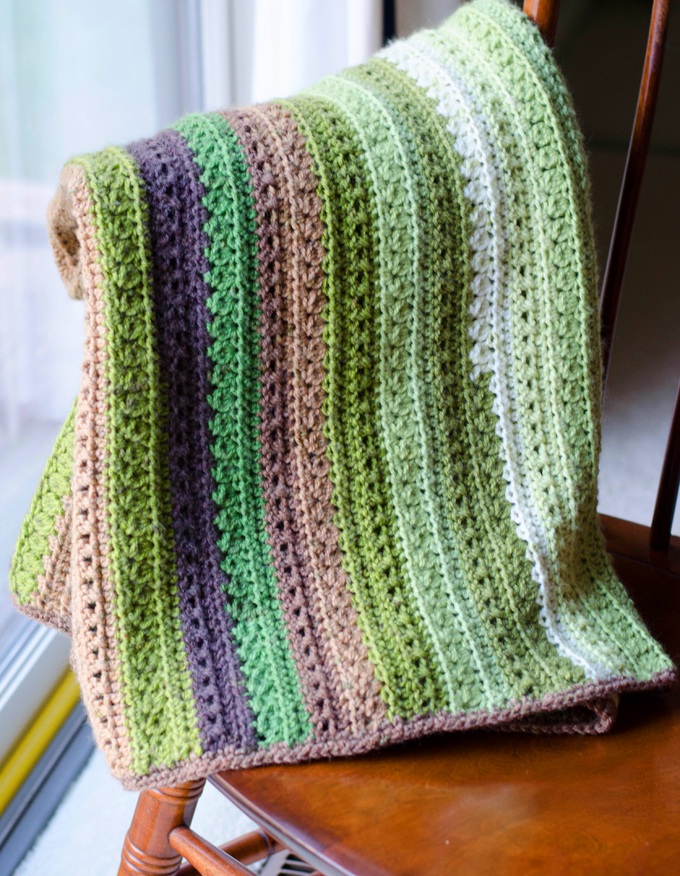 25 Free Crochet Afghan Patterns - Dabbles & Babbles