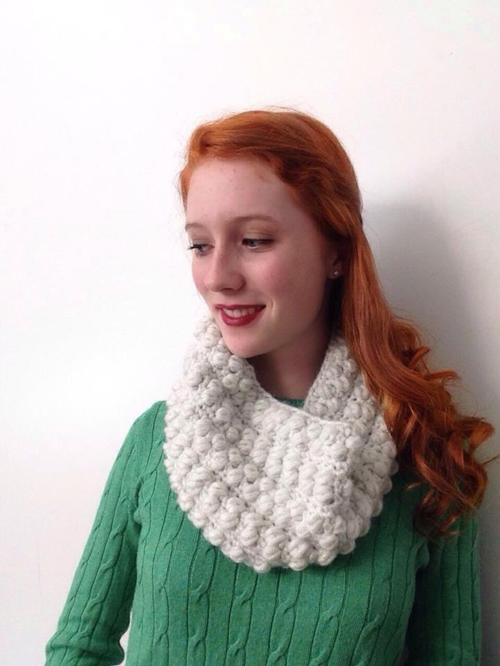 Winter Wonderland Cowl - 19 Easy Winter Crochet Cowls to Keep You Warm - here's a list of the coziest, stylish crochet cowls and infinity scarf crochet patterns to wear this season. #crochetcowl #crochetpattern #crochetinfinityscarf #cozycrochet