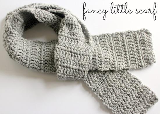 Crochet Scarf Pattern makeandtakes.com