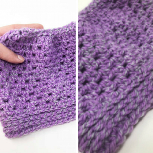 Messy Bun Crochet Hat - Crochet and knitting are crafts that use knitting yarn and stitchwork to create garments and other projects. And both methods have loads of benefits. #crochet #knitting #knittingvscrochet