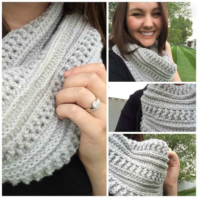 The Ribs and Ridges Scarf Free Crochet Pattern