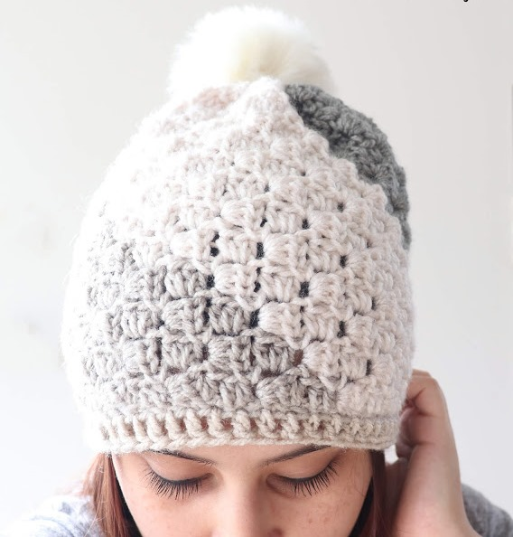 Don't Be A Square Beanie - This list of C2C crochet patterns will allow you make things you never dreamed of. Your friends will be impressed by your talent and you can make them gifts they could never buy in stores. #C2CCrochet #CornerToCornerCrochet #CrochetPatterns