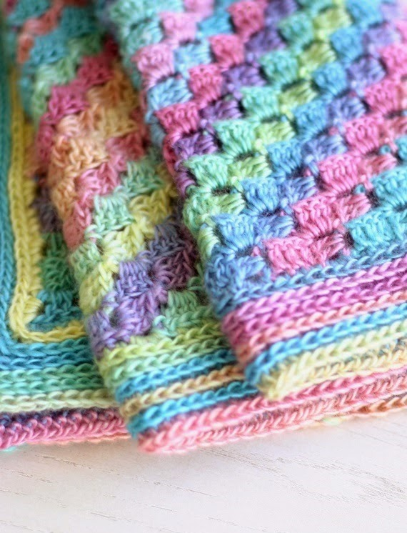 Spring into Summer Blanket - This list of C2C crochet patterns will allow you make things you never dreamed of. Your friends will be impressed by your talent and you can make them gifts they could never buy in stores. #C2CCrochet #CornerToCornerCrochet #CrochetPatterns