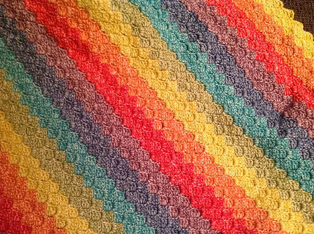 C2C Afghan - This list of C2C crochet patterns will allow you make things you never dreamed of. Your friends will be impressed by your talent and you can make them gifts they could never buy in stores. #C2CCrochet #CornerToCornerCrochet #CrochetPatterns