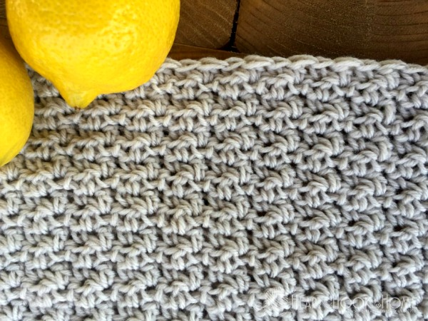 Lemon Peel Stitch - These different basic crochet stitches are the fundamentals to becoming an inventive crocheter. You could use these crochet stitches for blankets or a multitude of other projects. #SingleCrochetStitch #TunisianCrochet #BasicCrrochetStitches