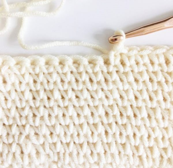 Waistcoat Stitch - These different basic crochet stitches are the fundamentals to becoming an inventive crocheter. You could use these crochet stitches for blankets or a multitude of other projects. #SingleCrochetStitch #TunisianCrochet #BasicCrrochetStitches