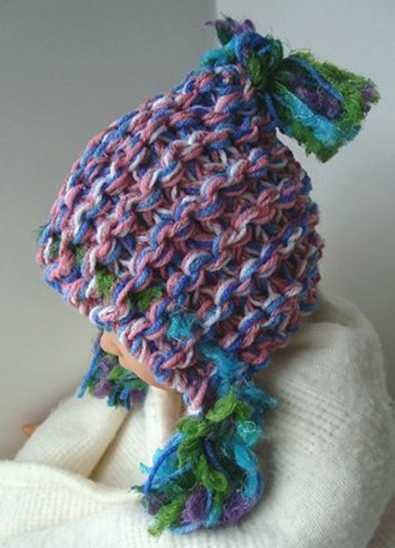 Super Chunky Hoodie Hat - These knitting patterns are fun and diverse. There are so many options to choose from and most of them make great easy knitting projects for beginners. #KnittingPatterns #EasyKnittingProjects