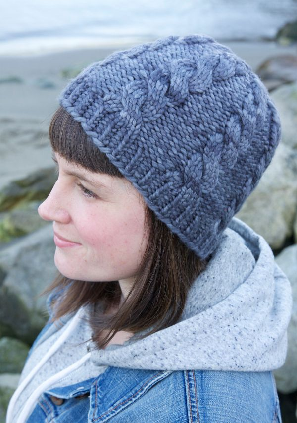 Northward - From casual to designer styled hats, these free knit hat patterns on circular needles are sure to be your new favorite projects to work on! #freeknithatpatterns #knithatpatterns #knitpatterns
